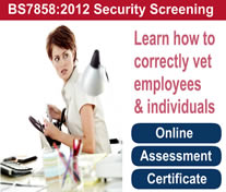 BS7858 2012 - Learn how to correctly vet employees and individuals